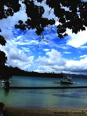 Dakak, Midday (mauwee88) Tags: sea summer sky beach philippines dakak dapitan