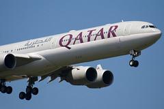 A7-AGC - 766 - Qatar Airways - Airbus A340-642 - 100617 - Heathrow - Steven Gray - IMG_4593