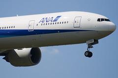 JA732A - 27038 - All Nippon Airways - ANA - Boeing 777-381ER - 100617 - Heathrow - Steven Gray - IMG_5103