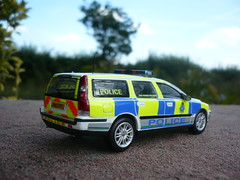1/43 Volvo V70 Merseyside Police OSU Road Policing Unit (alan215067code3models) Tags: road new old party mer leaving volvo police gift osu present job retierment pol unit 143 merseyside v70 policing