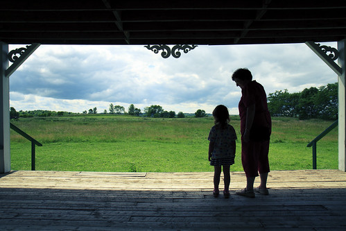 Pucks Farm - Sabrina and Gramma Silhouette