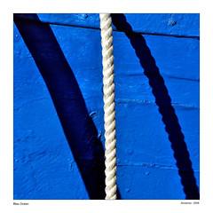Bleu... (Alcosinus   ON-OFF ) Tags: blue port harbor boat bleu ropes bateau cordes cordas sanary pointu nikond90 alcosinus bestofmywinners kartp0stal