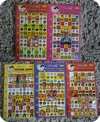 Sailor Moon Schedule Stickers!  I (Average Girl  ) Tags: chile santiago anime cute vintage notebook diary stickers journal korea kawaii stationery pegatinas schedule sailormoon papeleria patronato awon calcomanias adhesivos autoadhesivos brenntano kawai schedulestickers