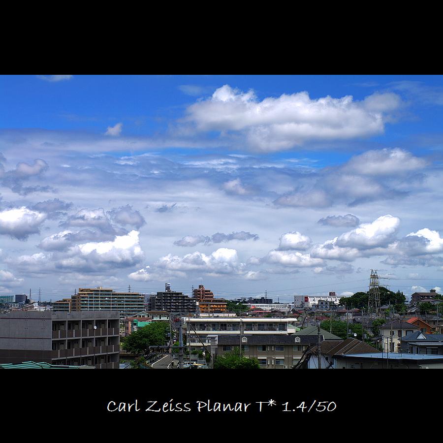 今天的雲  很美