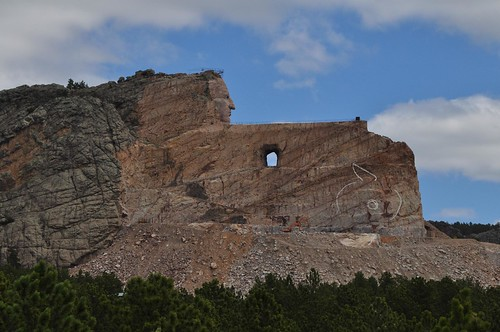Crazy Horse Memorial Completion Date crazy horse monument takes shape ...