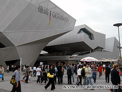 Germany pavilion