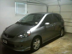 Our new to us Honda Fit