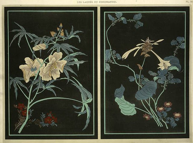 024-Flores-Les laques du Coromandel 1923- Eugene Alain Seguy