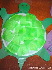 preschool turtle craft