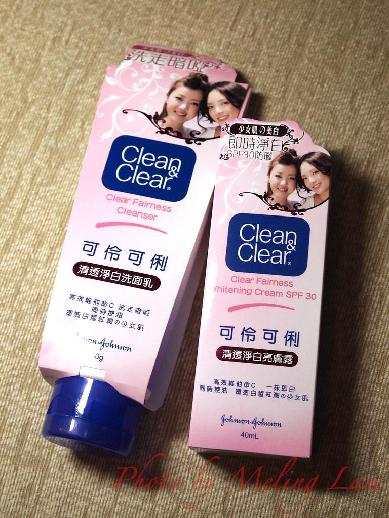 clean & clear clear fairness skincare