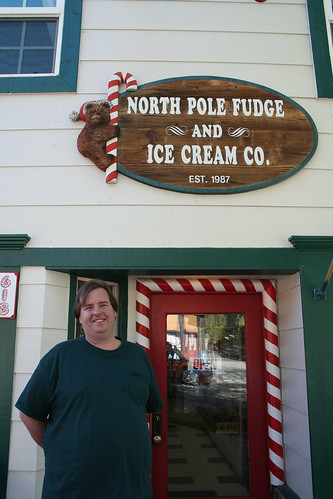 Big Bear Lake - North Pole Fudge and Mike