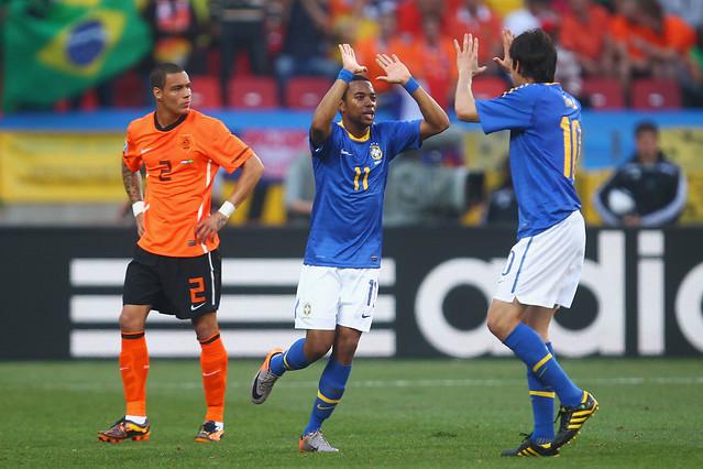 Robinho y Kaká Brasil