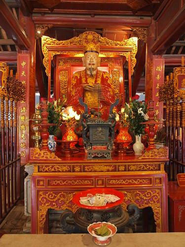 越南文廟供俸的孔子