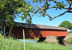 Vaholm covered bridge at Tidan in Sweden #6