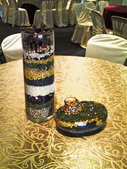 Table top deco (Art Fountain) Tags: wedding decorations party table gold colours top indian theme ware