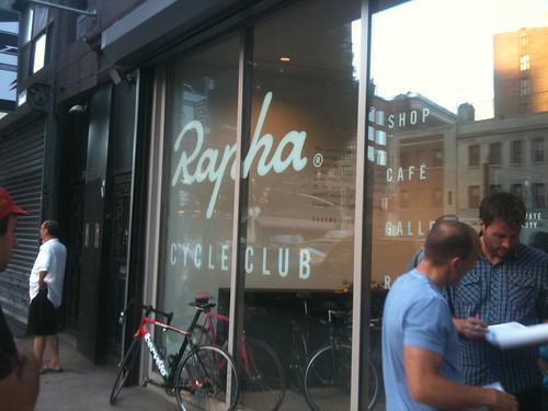Rapha storefront