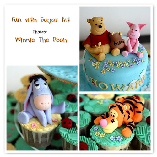Fun with Sugar Art: Winnie the Pooh