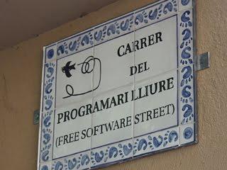 Carrer del programari lliure