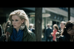 A Brief Encounter (James Yeung) Tags: girl switzerland pretty candid zurich blonde brief cinematic encounter