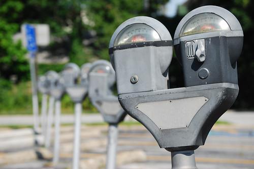 parking meters - a simpler life