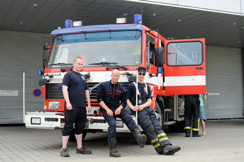 Volunteer fire-brigade