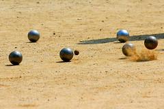 Bocciata! / Knocked! (AndreaPucci) Tags: france corsica knocked bowls bocce francia canoneos400 ilerousse bocciata canonefs55250f456is andreapucci