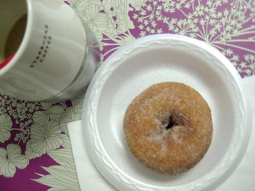 Daylight Donut Cinnamon Sugar Donut -165/365