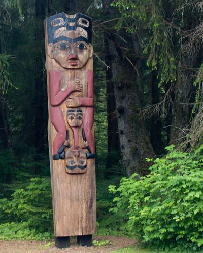 Totem Pole in Sitka
