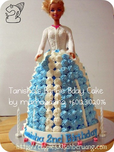tanisha's barbie bday cake