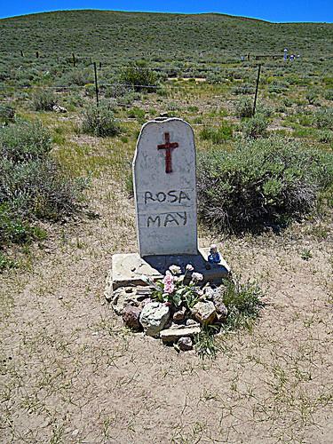 Rosa May Headstone