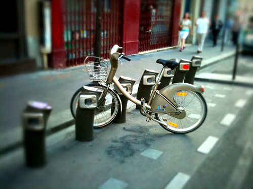 Vélib' has been one of the world's most successful public bike hire schemes. Photo: Susan S