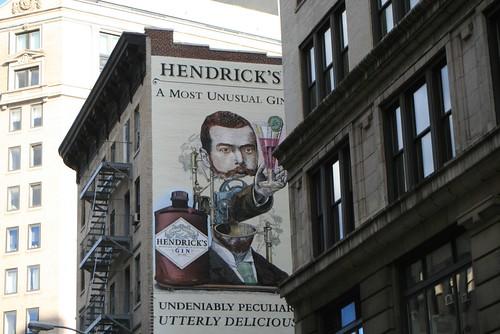 Mmmm, Hendrick's.