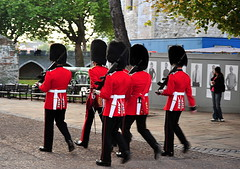 Her Majesty's Royal Palace and Fortress, more commonly known as the Tower of London (Σταύρος) Tags: camera city uk vacation england holiday castle westminster soldier march nikon uniform downtown britishisles unitedkingdom britain military centro rifle guard thecity palace guns uniforms guards 70300mm fortress castello rtw toweroflondon vacanze lhr enfield towerhill soldaten redcoat firearm londinium sentry bearskin londontower globetrotter centrallondon lilywhites ロンドン londonist semiautomatic troopingthecolour coldstreamguard assaultrifle furcap militaryuniform irishguards cityofwestminster лондон irishguard 556mm worldtraveler ad43 22days infantrysoldier queenslifeguard constitutionalmonarchy medievalcastle automaticrifle torredilondra l85a1 d700 λονδίνο nikond700 hermajestysroyalpalaceandfortress homeservicedress tallfurcap republicancommonwealth