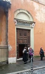 Basilica of Santa Prassede, side entrance