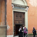 Basilica of Santa Prassede, side entrance