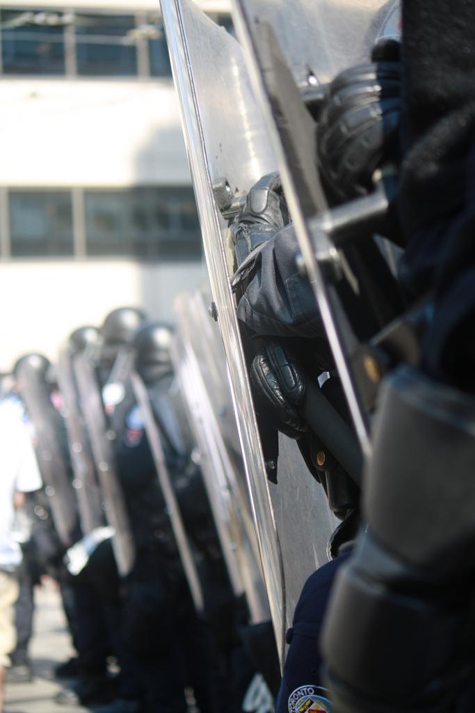 Riot police G20 Toronto