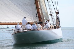 Westward Cup  1158 (www.CowesOnline.com) Tags: classic cup tv big sara sailing yacht royal class solent online yachts cowes eleonora squadron westward mariette mariquita coombes tkz tuiga