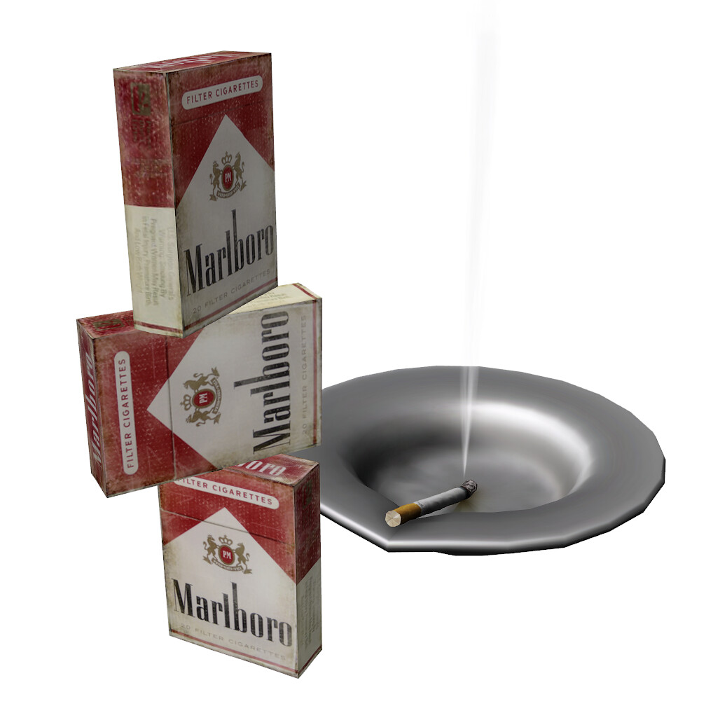 N326 cigarette box M