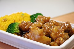 the house - sesame chicken
