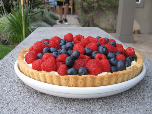 spangled berry tart