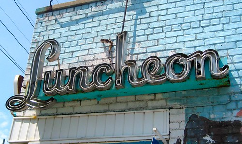 Krisch's Luncheon Sign