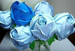 Touched. Blue. Heavens. - for mum. (The Gift of Gifts) Tags: happiness thankful grateful kindness valentinesday sincerity bluerose blueroses paperrose diamondrose bluepaper origamirose  artrose rosasdepapel  livrerose bluegift  papierrose giftofgifts giyhng giftofgift giftofgiftsrose  rosadicarta piparardaigh roseenpapier papierstieg papprrose   paprovre thegiftofgiftsrose thegiftofgiftrose thegiftofgifts gg papierrosen    rosedicarta  kertasmawar katgller  papirrua paprrzsa  letrrose raamatrose piparrose    cartearose rose karatasirose papperrose papurrose
