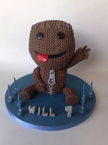 Sack Boy Birthday Cake