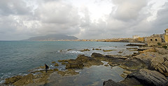 ITA-Trapani-1005-02-pn1 (anthonyasael) Tags: sunset italy building beach rock horizontal europe cloudy rocky ita sicily residential appartment westerneurope erice trapani dwelling