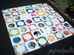 circle around... beyond the reef style! (Jaybird Quilts) Tags: quilt fabric crush kona beyondthereef circlearound konacrush jaybirdquilts 60blocksofsummer blocks116164