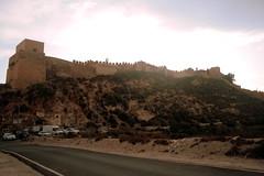 Festung in Almeria, Andalusien