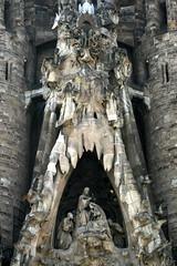 Sagrada Familia in Barcelona, Katalonien