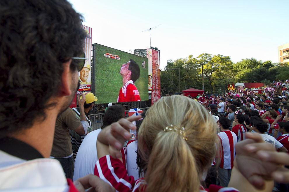 El encuentro tuvo momentos de mucha emoción y frustración, Paraguay dió lo mejor de sí frente a un difícil rival. (Tetsu Espósito, Asunción, Paraguay)