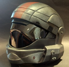 Halo ODST (Tsabo Tsaboc) Tags: life 3 dutch painted helmet halo size replica cast custo