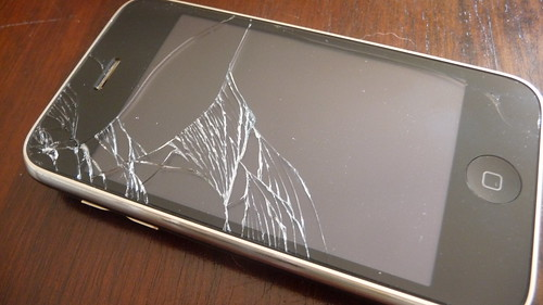 iPhone, broken